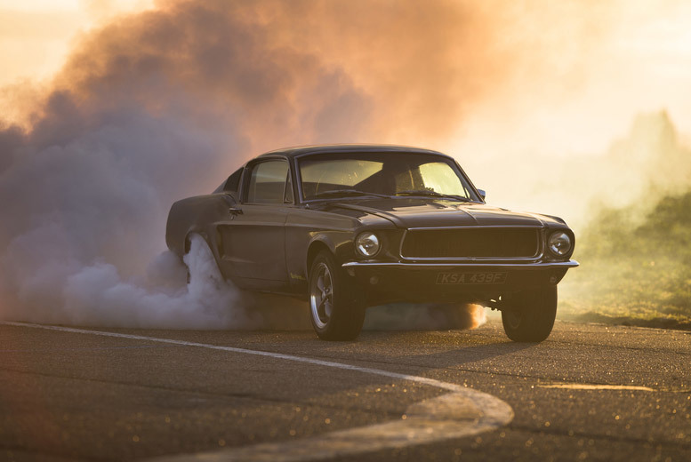 £69 for a 14-lap Bullitt Mustang driving experience from Drift Limits, Hemel Hempstead - save 50%