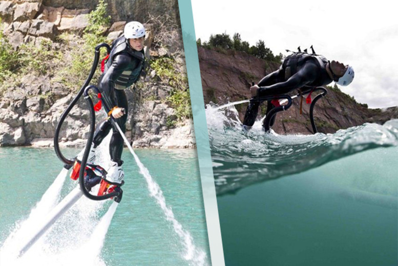 DDDeals - From £69 instead of £95 for a 90-minute fly boarding experience for one with Big Crazy - go to Chepstow or London Docklands and save up to 40%