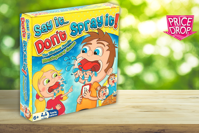 £6.99 instead of £19.99 (from Netprice Direct) for a Say it Don't Spray it game - save 65%
