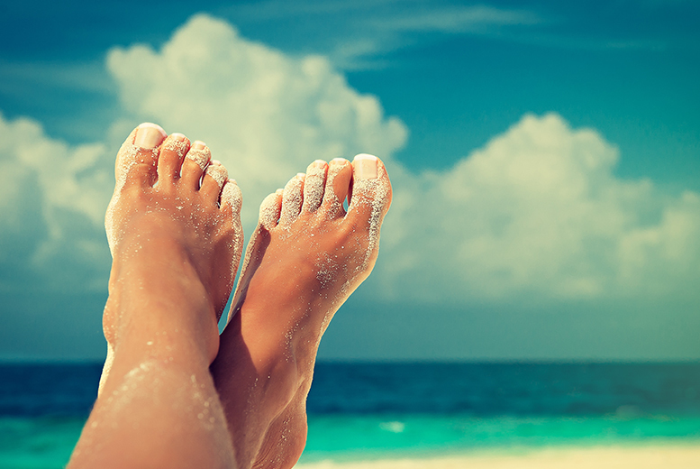 £15 instead of £36 for a deluxe pedicure and mini facial at Eden Beauty @ Northern Natural Therapies, Newcastle - save 58%
