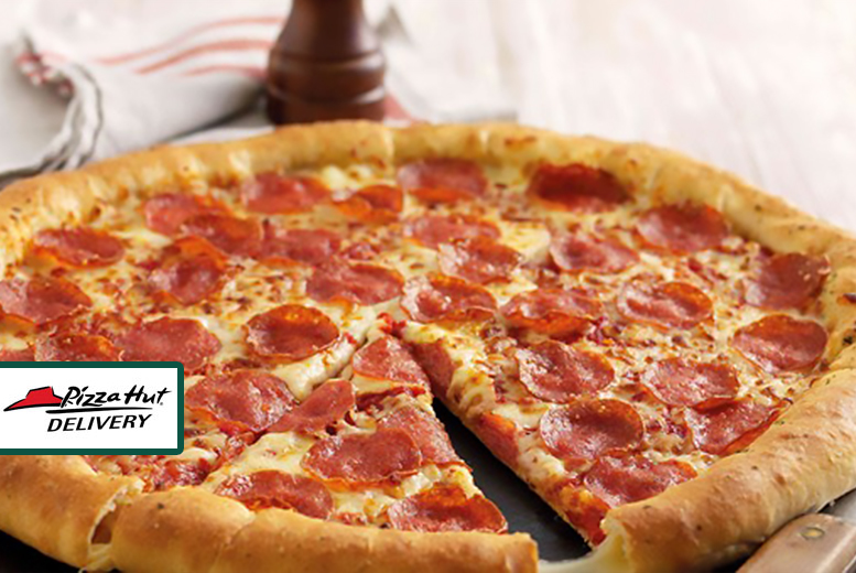 £9.99 instead of up to £40.10 for any two large pizzas to collect from Pizza Hut, 14 locations - save up to 75%