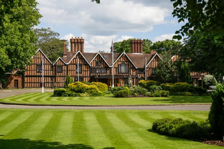 £99 for a spa day for two including a 55-minute treatment each and afternoon tea at Macdonald Alveston Manor Hotel, Stratford-upon-Avon