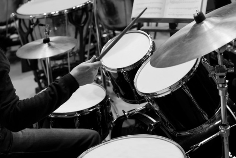 DDDeals - £19 instead of £50 for four drum lessons from Roddy Gray Drum School - save 62%