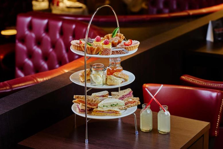£17.95 instead of £39.98 for afternoon tea for two at Marco's New York Italian, Sheffield - save 55%