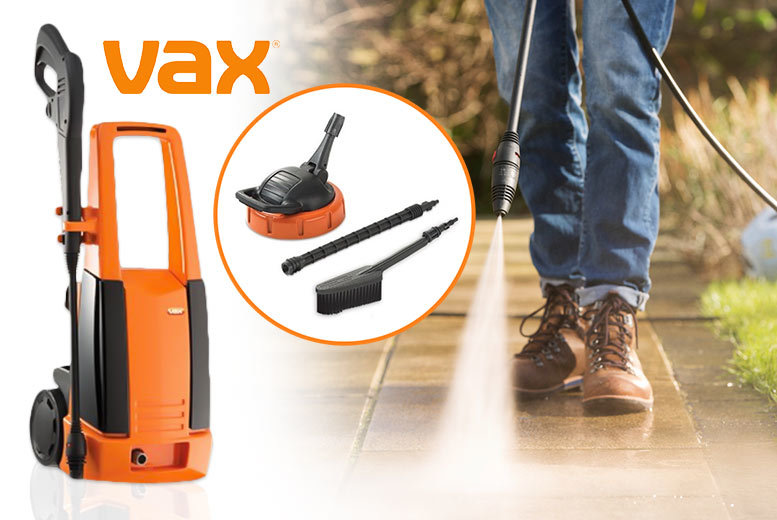 £59 instead of £109.01 (from Deals Direct) for a VAX 2000W power washer - save 46%