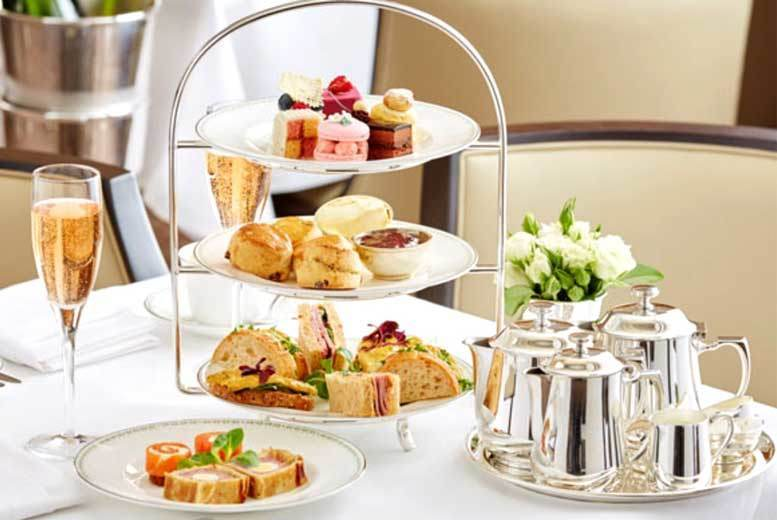 DDDeals - £16 instead of up to £26.99 for a sparkling afternoon tea for two people at The Ramada Warwick - save up to 41%