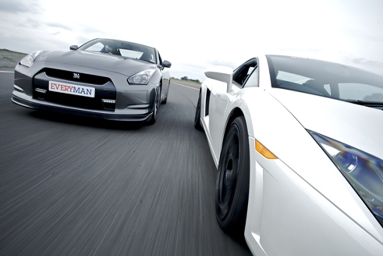 From £39 for a junior supercar driving experience in one car, or £99 for two cars at Everyman Racing!