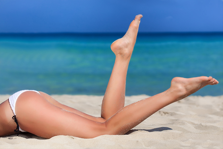 £49 for 6 sessions of IPL hair removal on a small area, £69 on a medium area or £89 for a large area with Naturalaser - choose from 12 locations and save up to save 80%