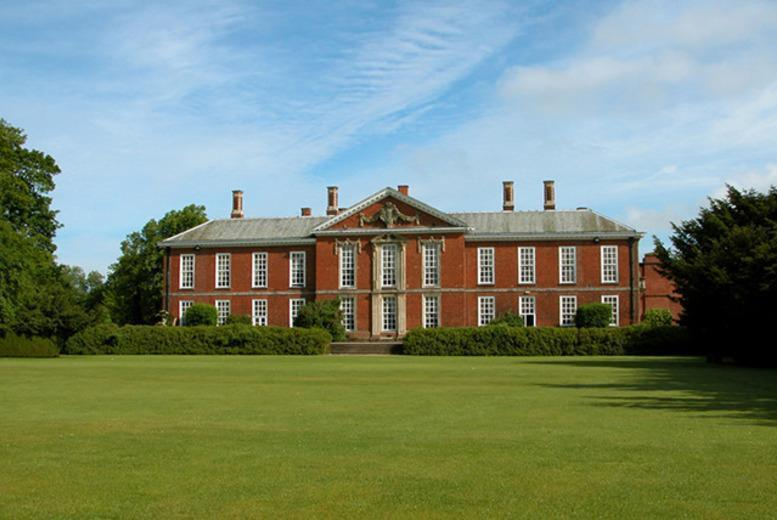 £69 (at Bosworth Hall Hotel) for a 1-night stay for 2 including breakfast, £99 including a spa treatment each or from £129 for 2 nights - save up to 48%