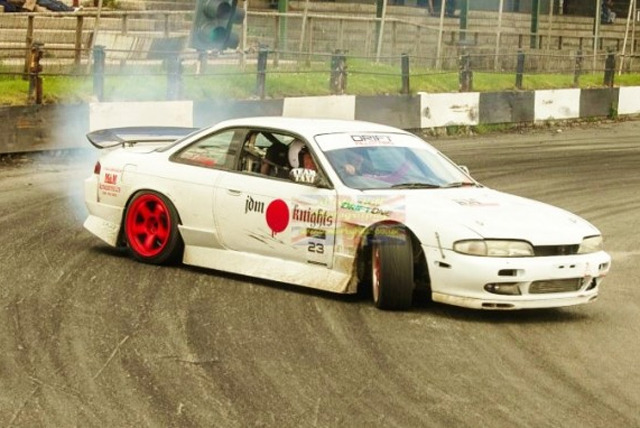 £15 instead of £60 for 2 passenger drift laps with a professional driver + entry to the UK Open Drift Championship with Drift One - save 75%