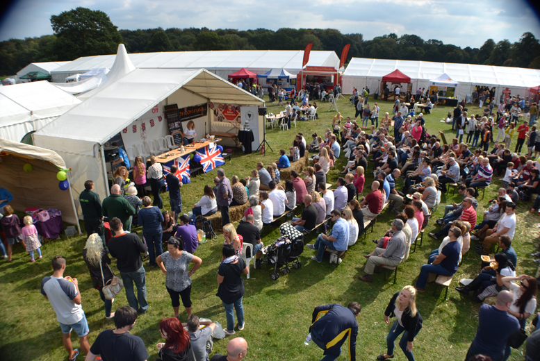 £9 instead of up to £15 for 2 tickets to the Great British Food Festival at Shugborough Estate, Stafford - save up to 40%