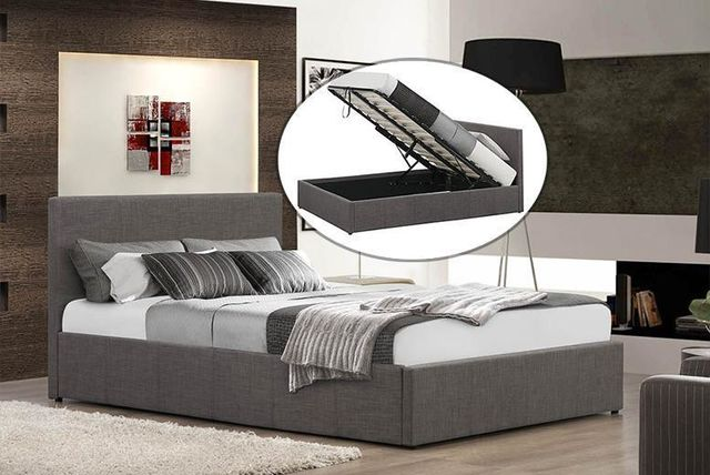 FTA-FURNISHING-FABRIC-OTTOMAN-BED1 ... - Fabric Ottoman Storage Bed