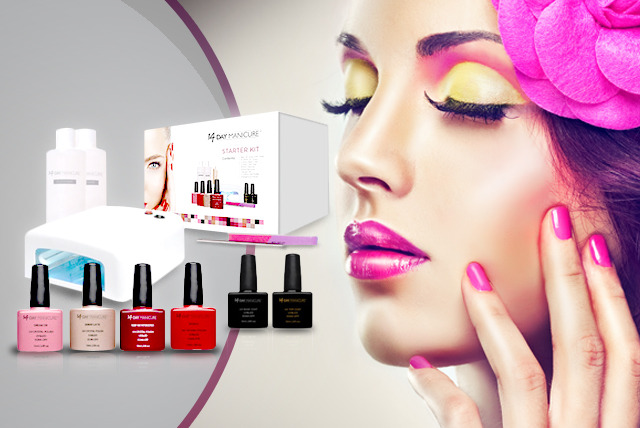 £79 instead of £229 (from 14 Day Manicure) for a 14 day gel manicure starter kit - polish up your look and save 66%