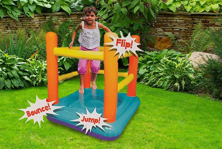 £24 instead of £78.99 (from Groundevel) for a kids quickassemble inflatable bouncy castle  save 70