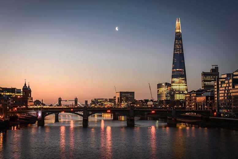 DDDeals - £99pp (from OMGhotels.com) for an overnight London stay with breakfast and View from The Shard tickets