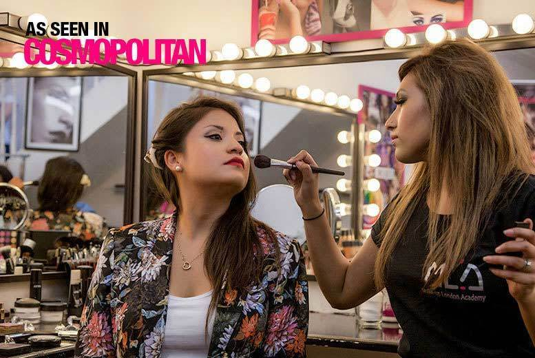 £29 instead of £190 for a three-hour MAC highlighting and contouring class at Makeup London Academy, Holloway - save 85%