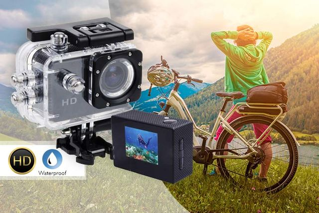 hd waterproof sports action cam