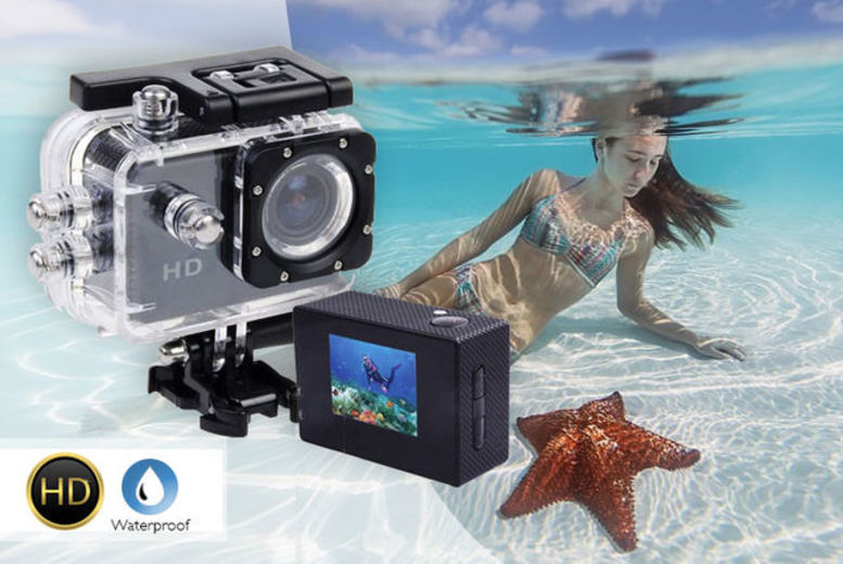 £12.99 instead of £76.99 (from TLD Retail) for a HD action cam  save 83