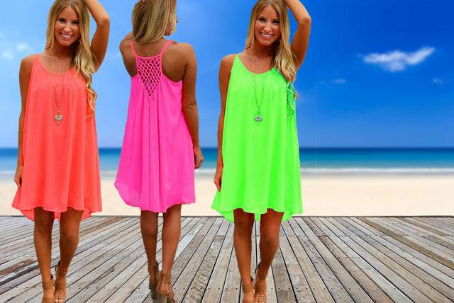 fluorescent dress