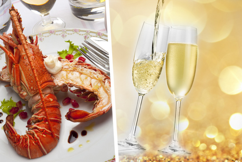 £39 instead of up to £88 for a whole lobster or steak each, chips and bottle of Prosecco for two people at The Lobster House, Putney - save up to 56%