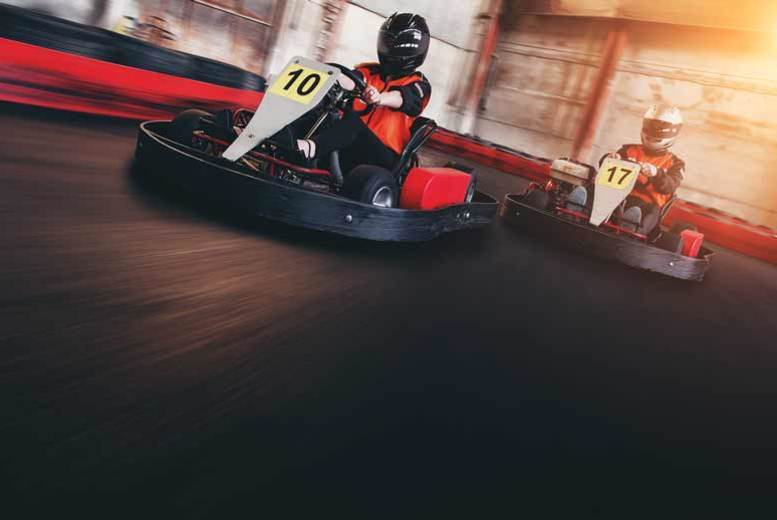 £15 instead of £30 for 50 laps of indoor go karting at Ace Karting Plus, Walsall - save 50%