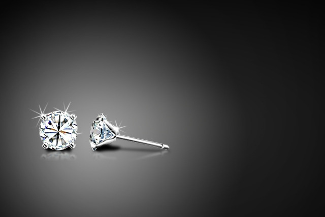 £6 instead of £39.99 (from Trendy Banana) for a pair of Swarovski Elements solitaire stud earrings - save 85%
