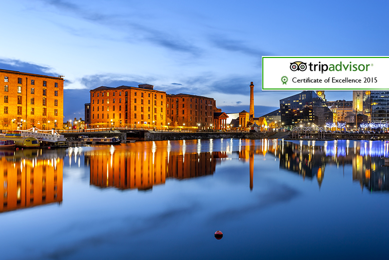 From £59 (at Days Inn Liverpool) for an overnight Liverpool break for two people including breakfast and a bottle of wine or £99 for two nights - save up to 53%