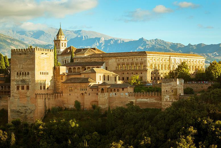 £169pp (from Samyama Fitness) for a 3-night half board yoga retreat in Granada inc. transfers, £349pp for 7-nights