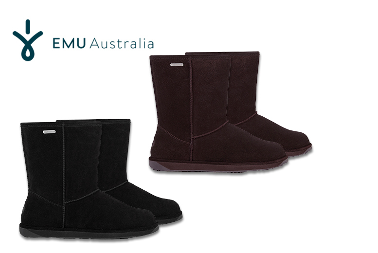 From £59 for a pair of EMU Australia suede boots from Deals Direct  choose from two styles and three colours and save up to 64
