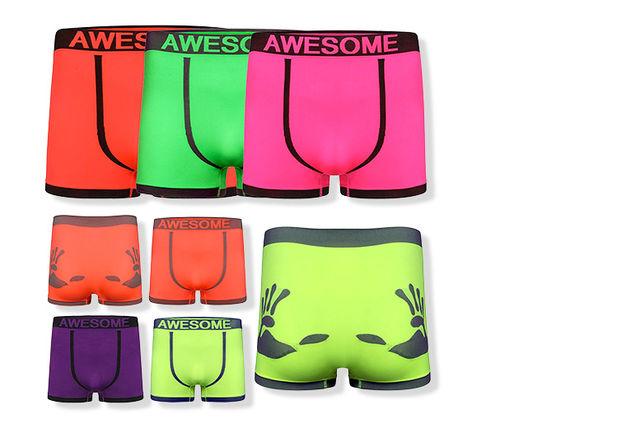 6pk mens neon boxers