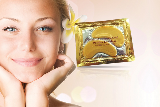 £8 instead of £100 (from EggSnog) for 20 collagen golden eye masks – give your eyes the Midas touch and save 92%