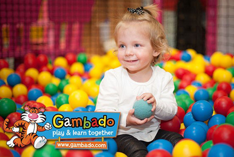 £10 instead of £27.30 for entry to Gambado Soft Play in Edinburgh or Glasgow for 2 adults and 2 children, £14.50 with 3 children or £18 with 4 children - save up to 63%