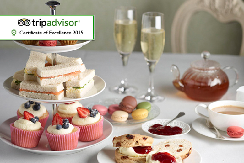 £24 instead of up to £50 for a sparkling afternoon tea for 2 people including a glass of Prosecco each at Thistle Kensington Gardens Hotel - save up to 52%