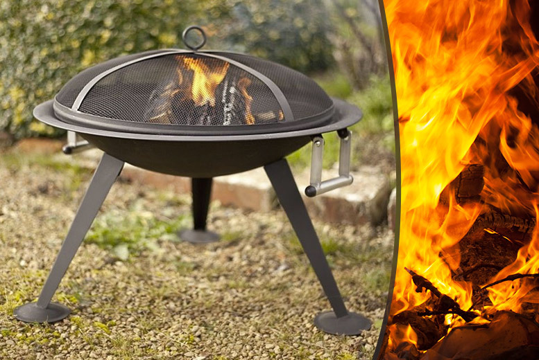 £35 instead of £70 for a freestanding fire pit from Wowcher Direct - save 50%
