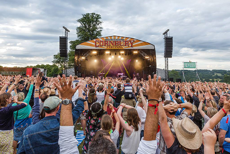 £10 for a child ticket to The Cornbury Music Festival, Great Tew Park on 10th or 12th July 2015, £25 for a young adult ticket or £50 for an adult ticket - save up to 33%