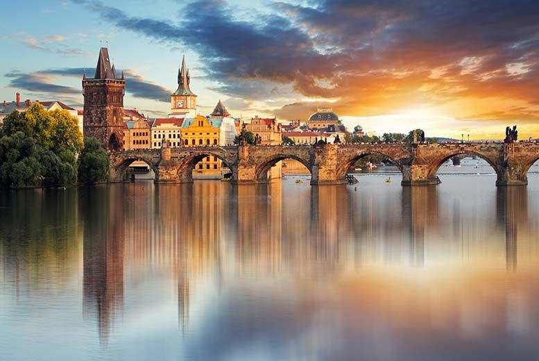 From £149pp instead of up to £211.08pp (from Crystal Travel) for a four-night 4* Amsterdam and Prague break including flights and transfer - save up to 25%