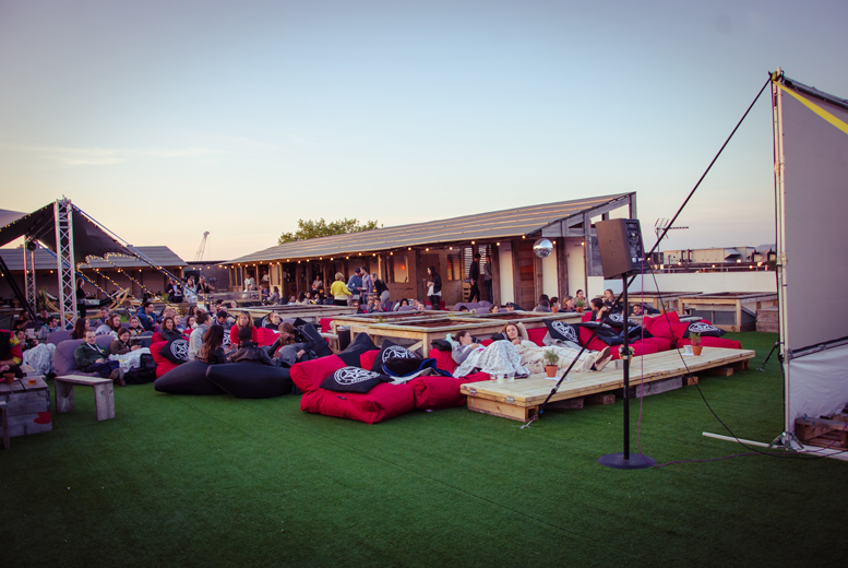 From £7.50 for a rooftop cinema ticket with We Press Play, Kensington and Fulham Broadway - save up to 25%