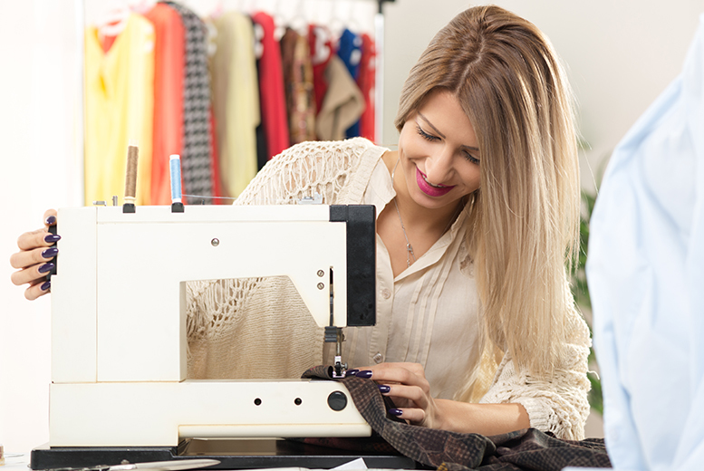 £25 instead of £59 for a three-hour sewing skills class at The Style Factory, Runcorn - choose from six dates this summer and save 58%