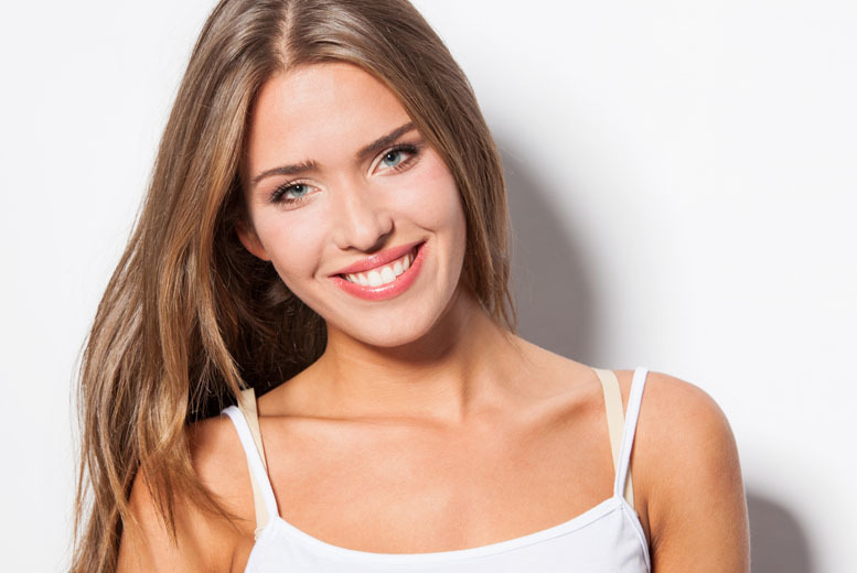 £79 for a one-hour LED teeth whitening treatment, £89 to include a home whitening kit at Harley Street White Smiles Clinic, London - save up to 74%