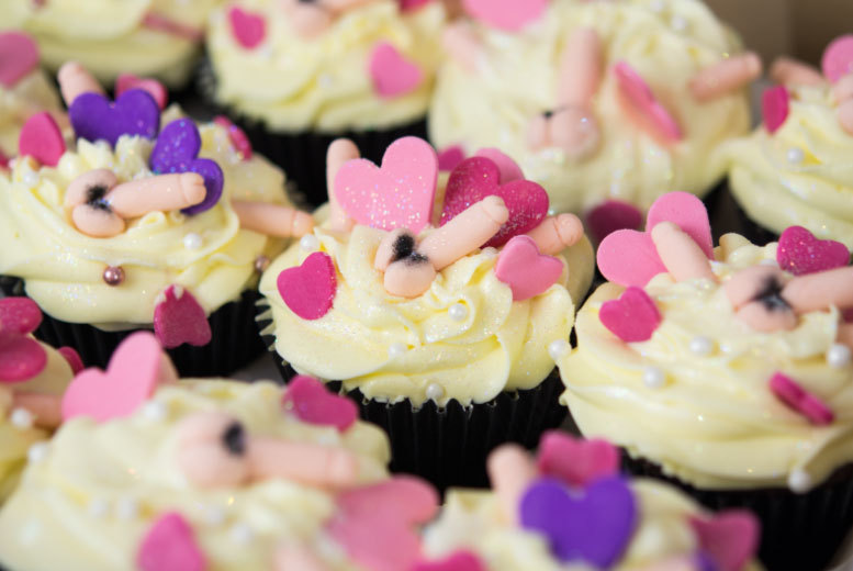 £10 instead of £36 for a box of twelve adult cupcakes from Buckley's Bakery with delivery to Zones 1-4 - save 72%