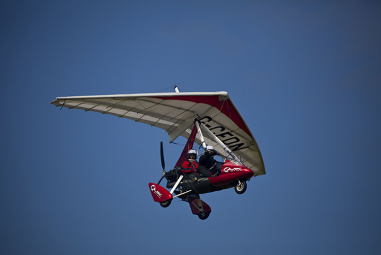 £59 for an up 30-minute microlight flight experience from Buy a Gift, valid at 5 UK locations