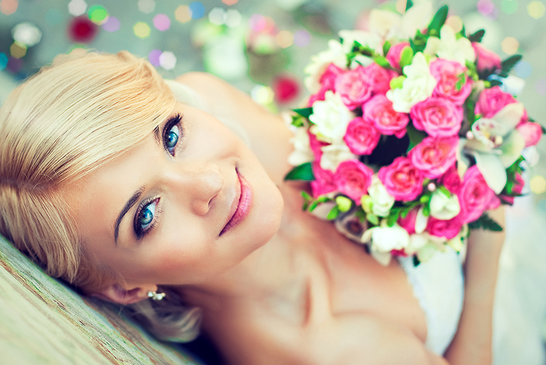 £69 for a bouquet for the bride and up to 4 bridesmaids and corsages or buttonholes for the groom and up to 3 ushers from Charmed Floristree, Edinburgh - save up to 75%