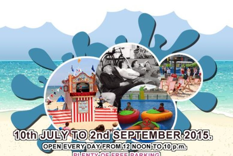 £11.99 (instead of £20) for entry plus 15 ride tokens to the Urban Beach Festival, Brent Cross - save 40%