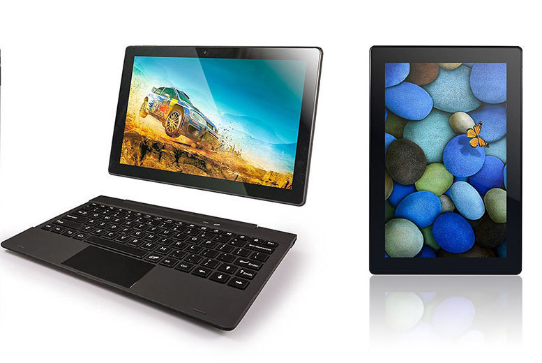 """The Best Deal Guide - 10.1"""" Quad-Core Fusion5 2-in-1 Laptop & Tablet"""