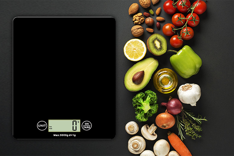 The Best Deal Guide - Digital Kitchen Scales - 4 Colours!