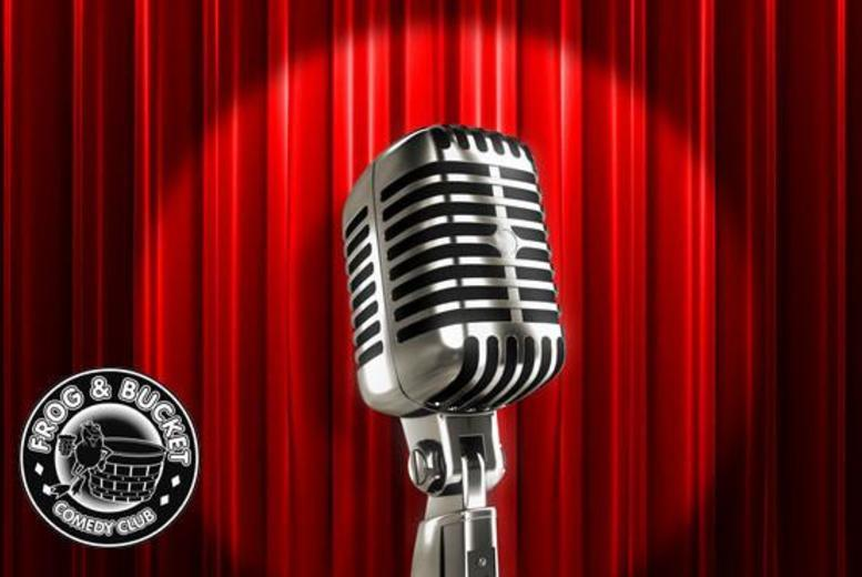 £12 for a ticket to an award-winning Friday night comedy show and a burger at Frog & Bucket Comedy Club, Manchester