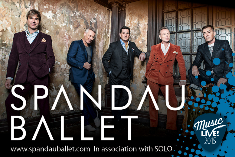£35 for a grandstand ticket to the races plus a live set by Spandau Ballet, £45 for a county ticket at Doncaster Racecourse!