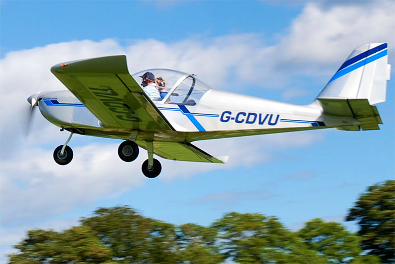 £65 instead of £135 for a one-hour scenic flight experience with Aero Adventures, Burton-upon-Trent - save 52%