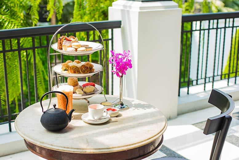£19 instead of up to £50 for an al fresco afternoon tea for two, £24 to include a glass of Champagne each at Park Grand, Lancaster Gate - save up to 62%