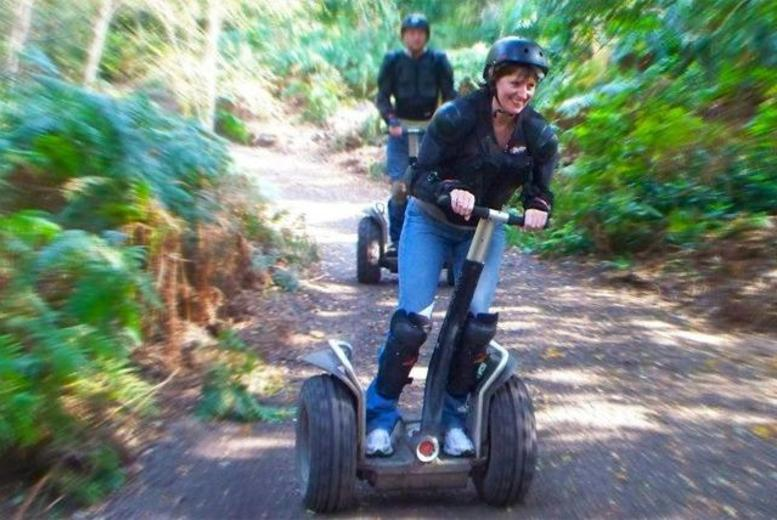 £11 for a Segway taster experience for one person, from £17 for full rally experience for one, from £32 for two, £89 for four with Segrally - save up to 51%